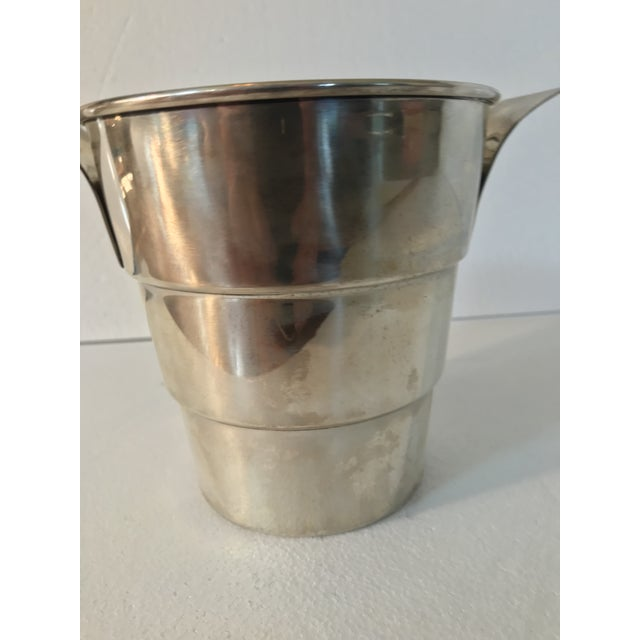 Mid 20th Century Sterling 925 Wine Cooler Ice Bucket For Sale - Image 5 of 11