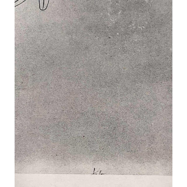 "Paul Klee Paul Klee Lithograph Ltd Edition ""Spirits of the Air"" For Sale - Image 4 of 5"