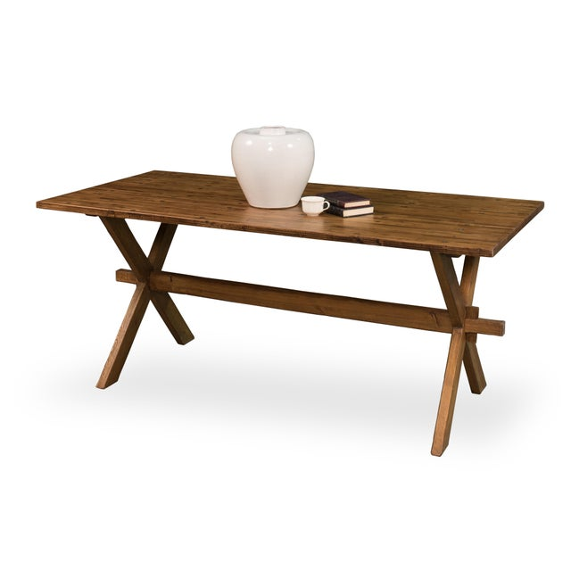 Vintage Sarreid LTD Truck Bed Dining Table For Sale In Raleigh - Image 6 of 6