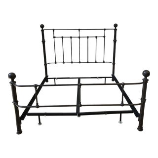 Pottery Barn Queen Size Mendocino Bed Frame For Sale