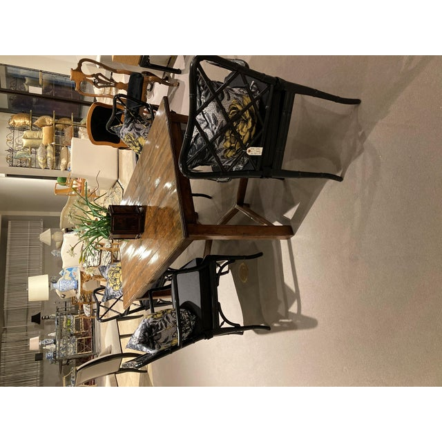 Guy Chaddock Wood Dining Table For Sale - Image 11 of 12