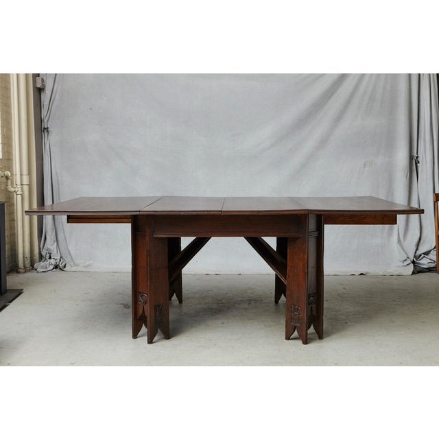 Important Art Nouveau Dining Set by Ernesto Basile for Ducrot, Circa 1900 For Sale In New York - Image 6 of 13