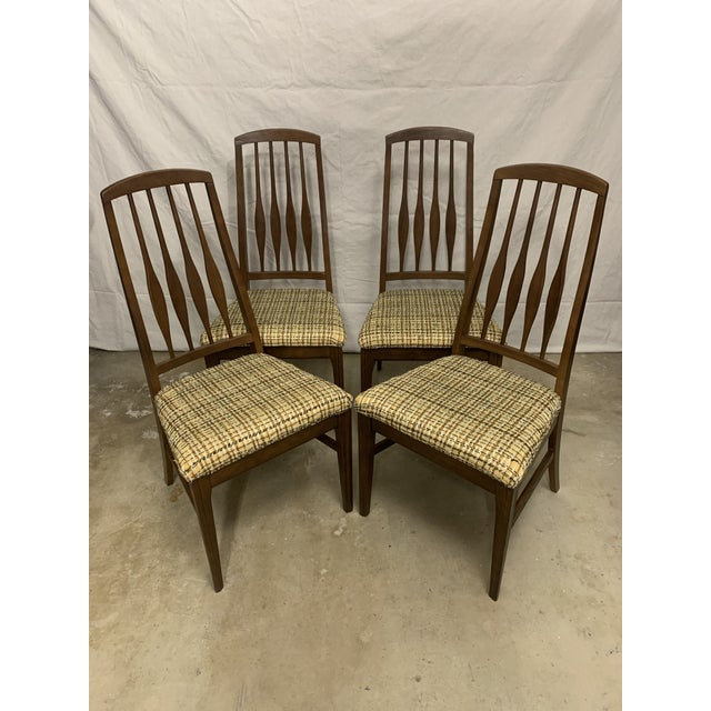 Mid Century Modern Keller Dining Chairs - Set of 4 For Sale - Image 13 of 13