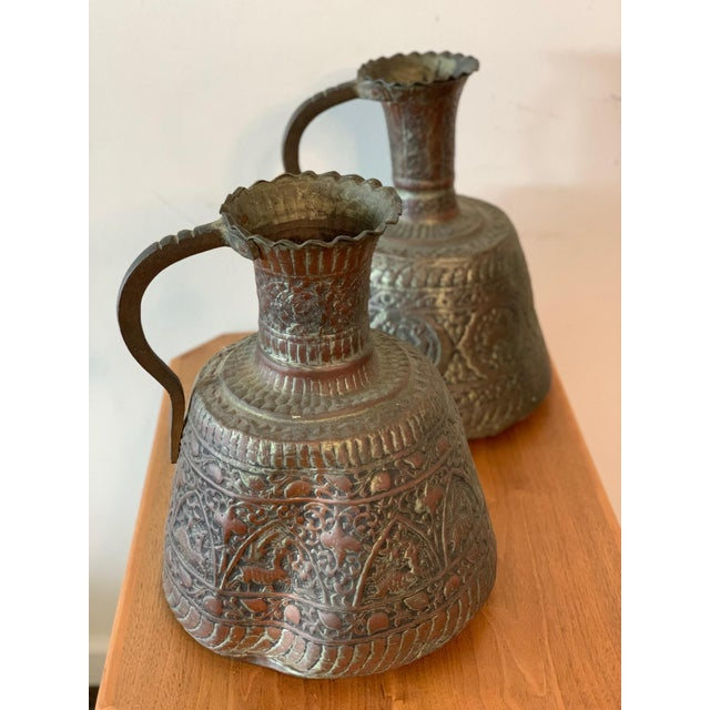 Antique Turkish Water Jugs - a Pair For Sale - Image 12 of 12