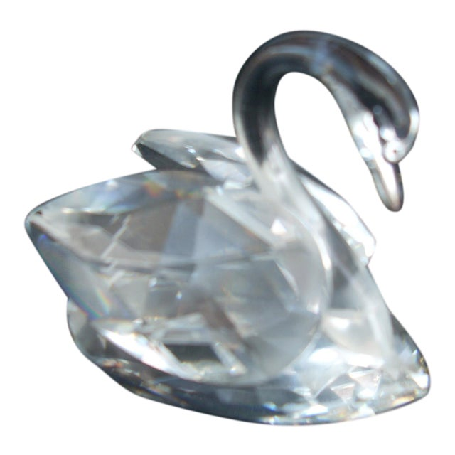 Swarovski Crystal Swan For Sale