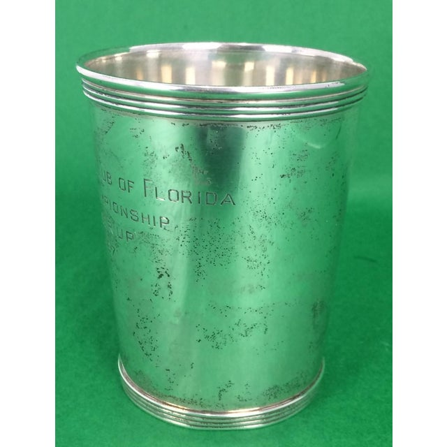 "Newport Sterling ""The Country Club of Florida"" 1967 Julep Cup - Image 5 of 5"