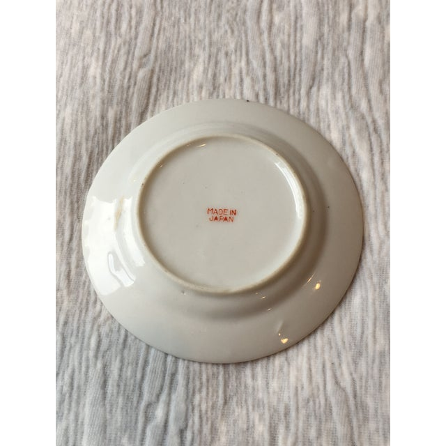 Mid 20th Century Antique Japanese Porcelain Mini Plates - a Pair For Sale - Image 4 of 5