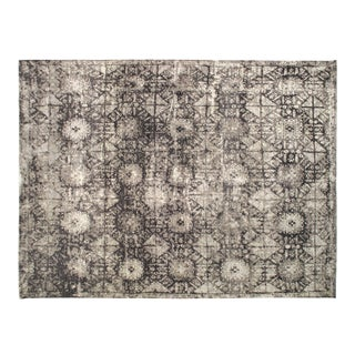 Stark Studio Rugs Contemporary New Oriental 60% Silk/40% Wool Rug - 9′11″ × 14′3″ For Sale