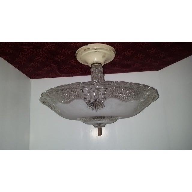 Victorian Style Chandelier Ceiling Fixture - Image 2 of 7