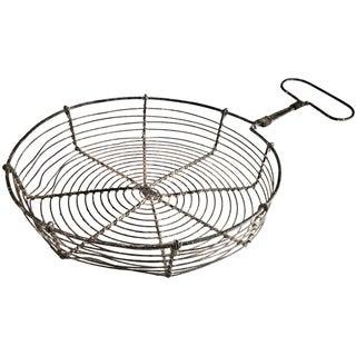 Vintage French Wirework Steamer Basket