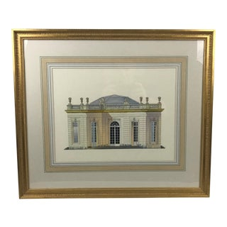 Chelsea House Architectural Palladian Building Print For Sale