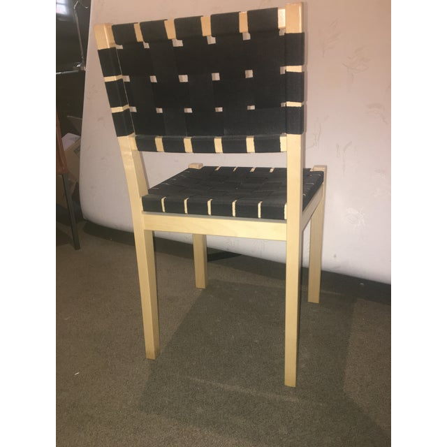 Designed by Alvar Aalto in 1929, Chair 611 was one of his first furniture pieces. Clean-lined and functional, the...