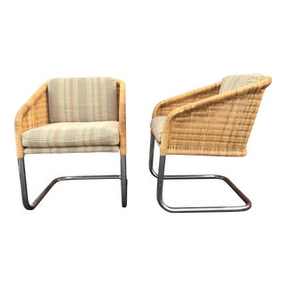 Martin Visser Cantilever Chairs - A Pair For Sale
