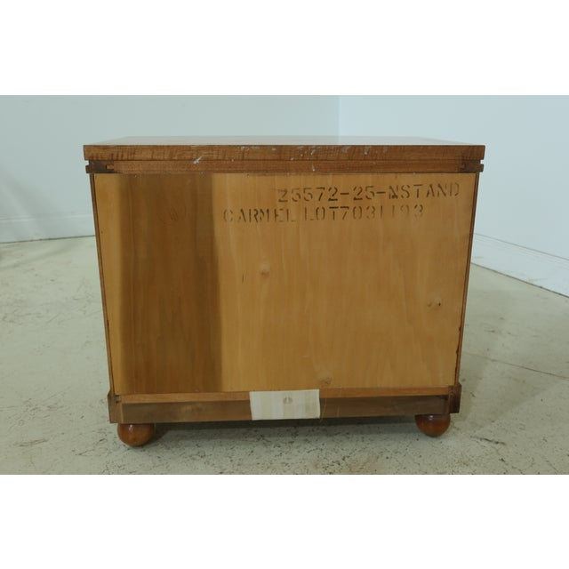 Hickory White Satinwood Genesis Collection Nightstand For Sale In Philadelphia - Image 6 of 7