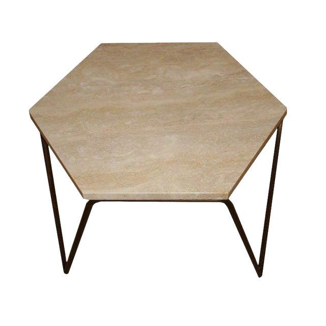 Customizable Tom Tripod Hexagon Table For Sale