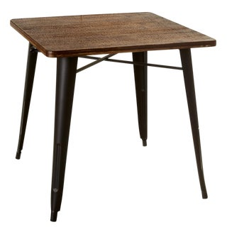 Farm House Style Wooden Side Table