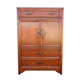 1970s Henry Link Mandarin Collection Armoire For Sale
