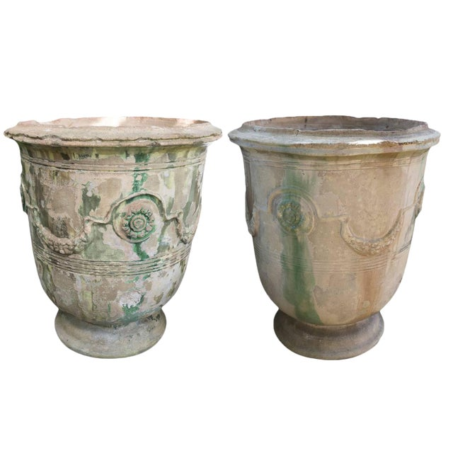 19th Century Grand Anduze Jars For Sale