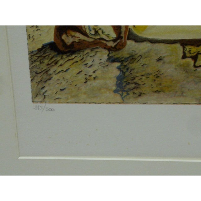 """Limited Edition Numbered (275/300) Matted Salvador Dali Print """"Spectrum of Sex Appeal"""" - Image 6 of 8"""