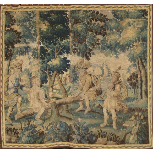 This late 17 century piece is very interesting due to it style that can be classified as Turquerie style in vogue in...