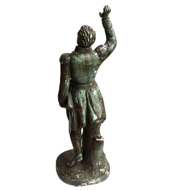 American Classical Ethan Allen Statue For Sale - Image 3 of 8