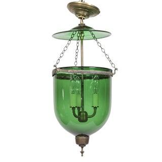 Green Glass Lantern
