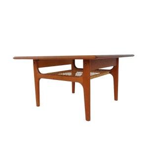 Mid Century Danish Modern Trioh Teak Side Table