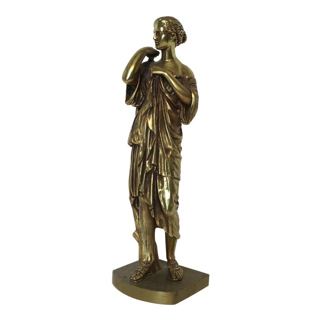 Bronze Neoclassical Grand Tour Statue - Image 1 of 8