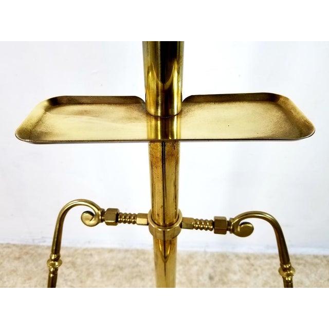 1960s Hollywood Regency Gentleman Brass Valet For Sale - Image 9 of 13