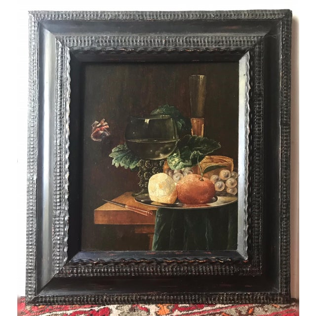 19th Century Still Life Painting After Pieter Claesz, Framed For Sale - Image 9 of 9