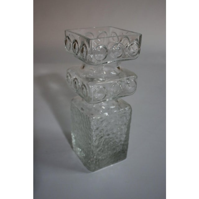 Mid-Century Modern Mid-Century Art Glass Vase by Helena Tynell For Sale - Image 3 of 5
