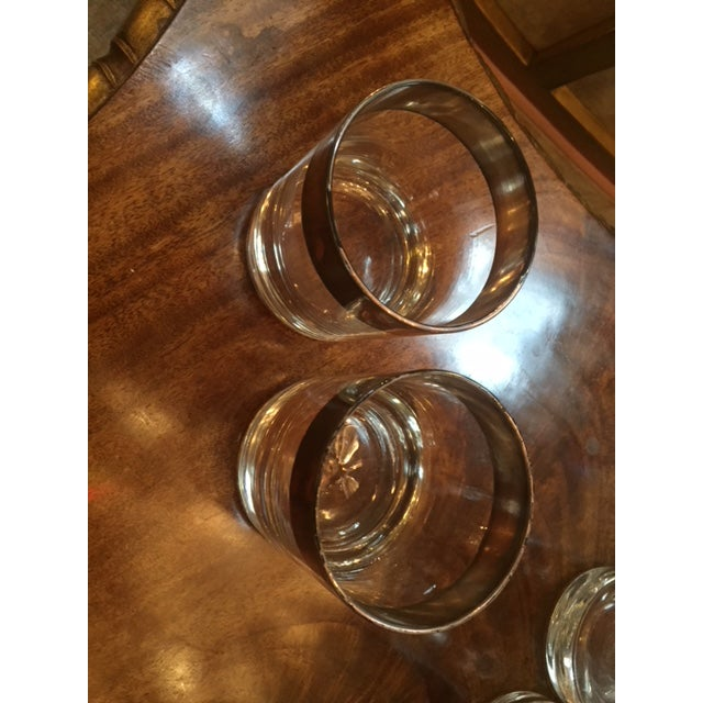Vintage Dorothy Thorpe Scotch Glasses- Set of 14 For Sale In Los Angeles - Image 6 of 8