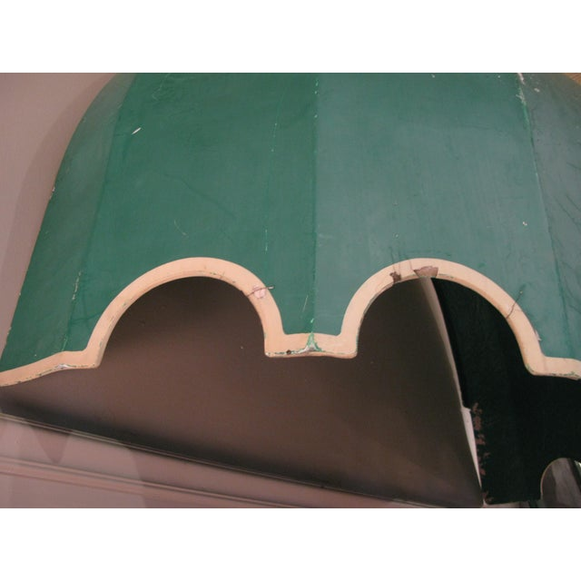 Vintage Fiberglass Canopy Awning For Sale - Image 4 of 6