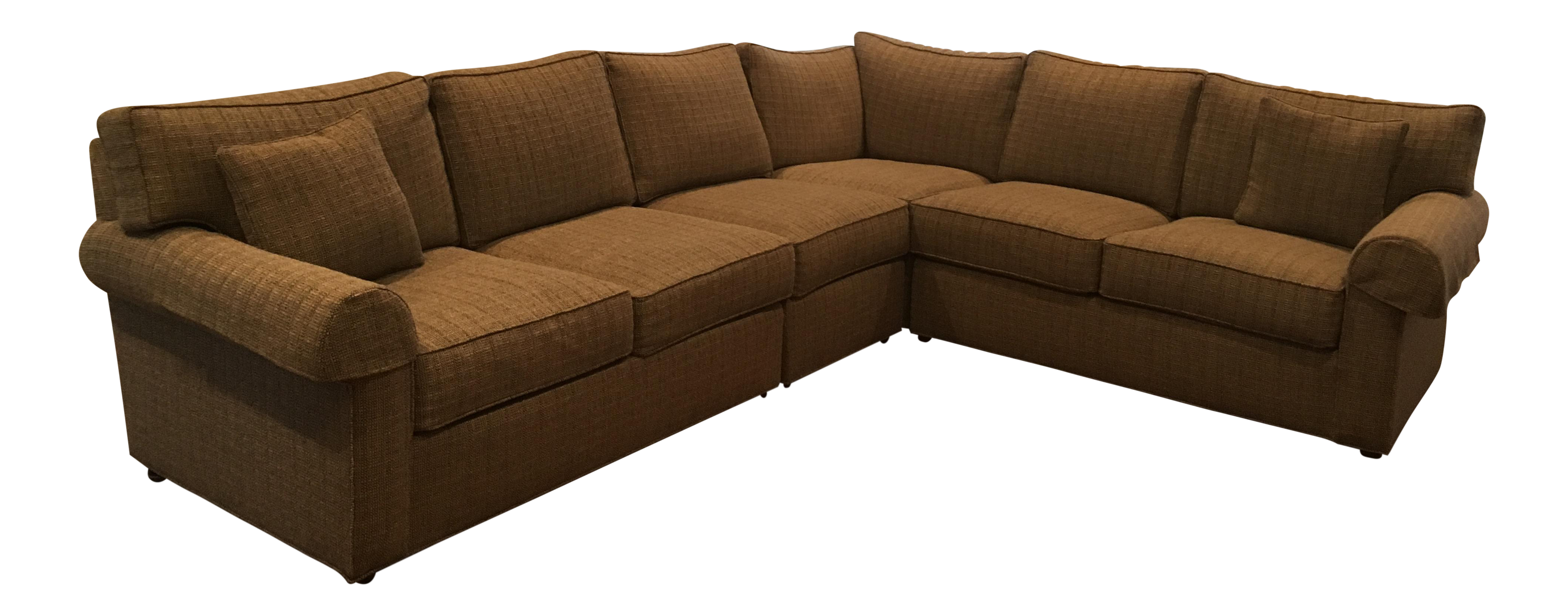 Ethan Allen Sectional Sofa   Image 1 Of 11