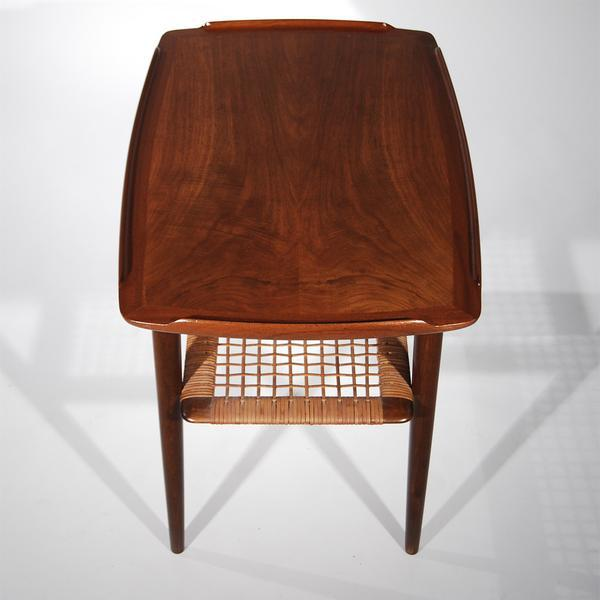 Mid-Century Modern Kitchen Prep Table For Sale - Image 3 of 5