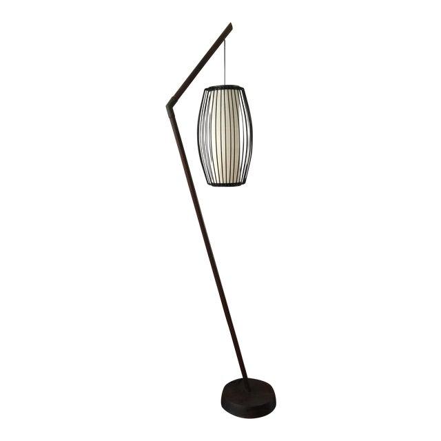 New York-Based Japanese Designer Floor Lamp - Image 1 of 8