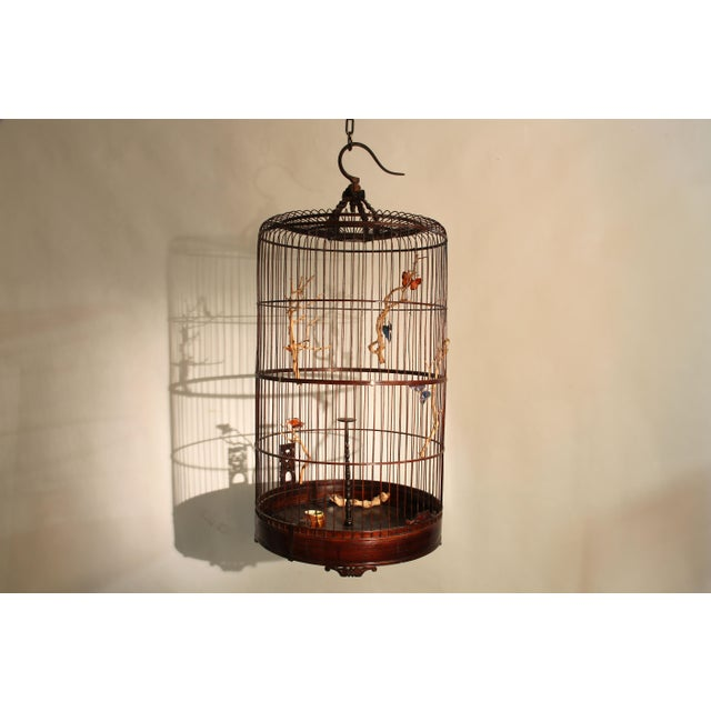 Early 20th Century Chinese Bamboo Cage For Sale In Chicago - Image 6 of 8
