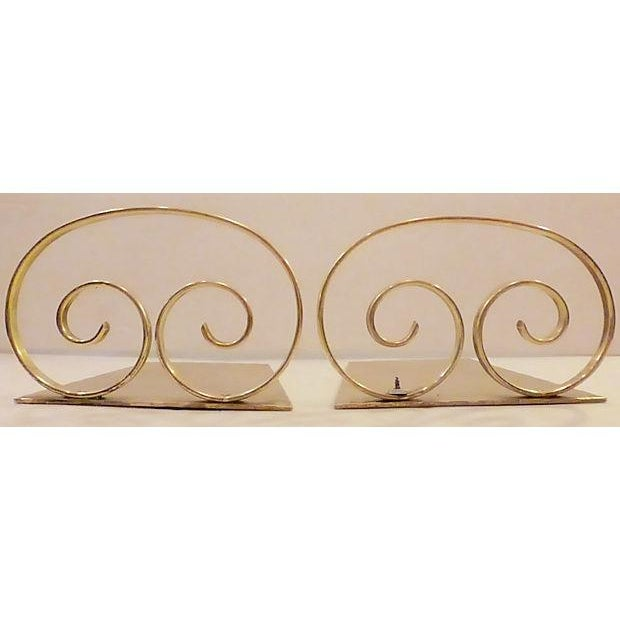 Solid Brass Bookends - A Pair - Image 2 of 6