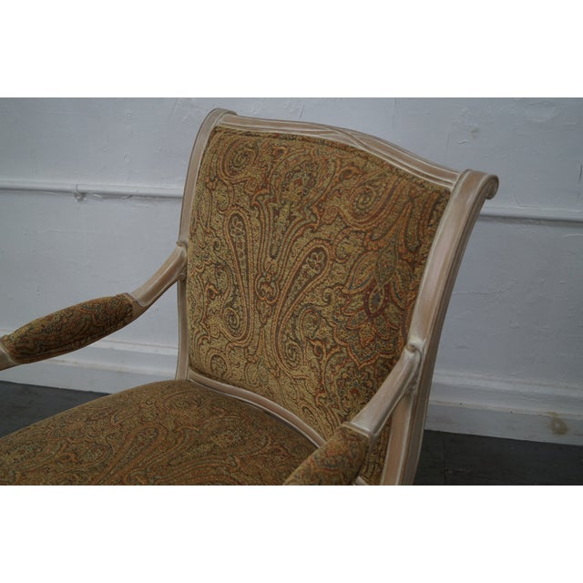 Regency Style Paisley Armchairs - A Pair - Image 7 of 10