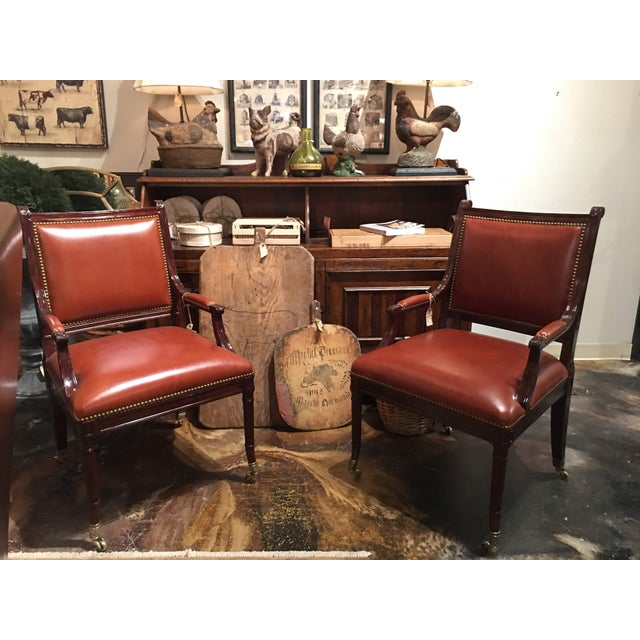 Theodore Alexander Regency Style Game Chair For Sale - Image 12 of 13