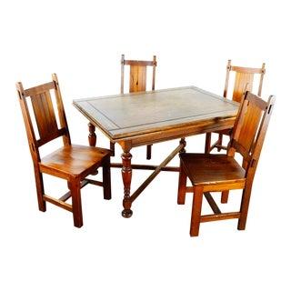 Pier 1 Wooden Dining Set