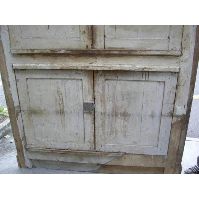 Wood 19th Century French Provincial Cabinet Front For Sale - Image 7 of 7