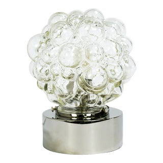 Glass Bubbles Table Lamp For Sale