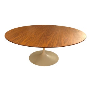 Eero Saarinen for Knoll Walnut Coffee Table For Sale