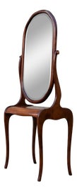 Image of Art Deco Console Table With Mirror Set