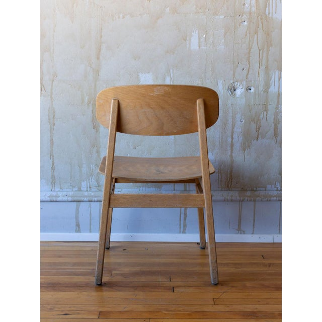 Vintage Italian School Chairs- Set of 8 For Sale - Image 9 of 11