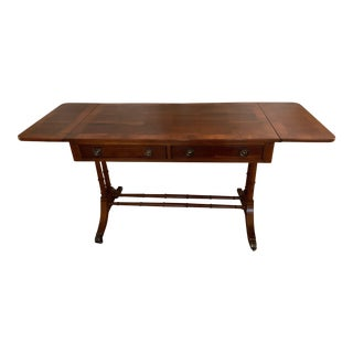 Mid-Century Modern Hekman Furniture Console Table For Sale