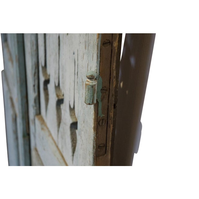 French 19th Century Antique French Shutter Doors - a Pair For Sale - Image 3 of 5