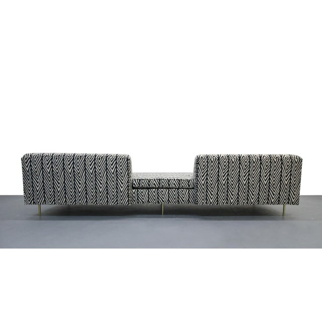 Mid-Century European Open Back Sofa For Sale - Image 5 of 7