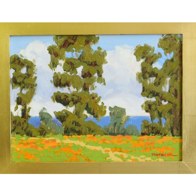 Abstract Marc a Graison, California Plein Air Coastal Landscape Oil Painting For Sale - Image 3 of 9